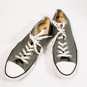 Converse Gray Chuck Taylors All Star Sneakers W13